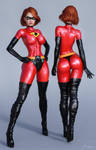 Character Reference Elastigirl by tiangtam