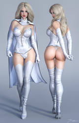 Character Reference White Queen v2 by tiangtam