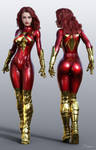 Character Reference MJ Iron Spider v3 by tiangtam