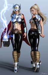 Character Reference Thor by tiangtam