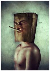 Mr. Paper Bag by anderton