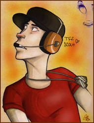 Team Fortress 2: Scout by Journye