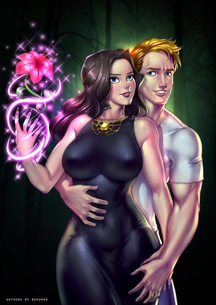 Dark Enchantress characters by TimBaril