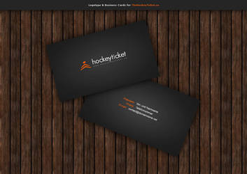 logotype + business cards by blind91