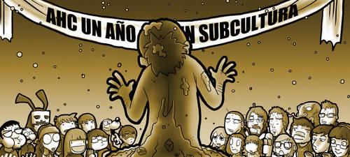 1er aniversario Subcultura by LucasHartes