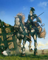 Don Quixote de La Mancha by randis