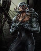 Venom vs Peter by randis