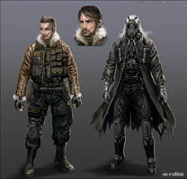 Character Concept - 01 by randis