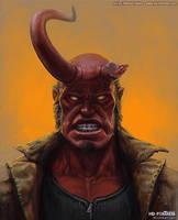 Hellboy by randis