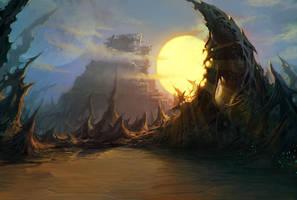 Ruins - Art RPG Location by randis