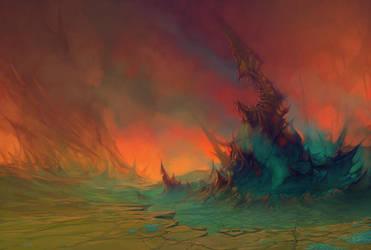 landscape concept - ART RPG by randis
