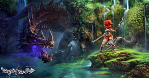 Dragon Slayer Robin by randis
