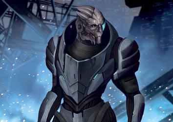 Mass Effect Series #2 Garrus Vakarian by Pakoune