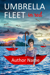Umbrella fleet in red by OlgaGodim