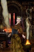 Magic Temple by OlgaGodim