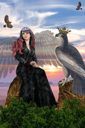 The eagle queen by OlgaGodim