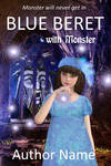Blue beret with monster by OlgaGodim