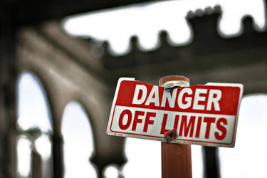 Danger: Off Limits by dae-mon1