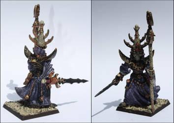 Warhammer - Classic Nagash, Lord of the Undead by Halat