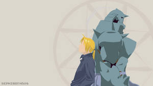 Edward and Alphonse Elric (Fullmetal Alchemist) by Sephiroth508