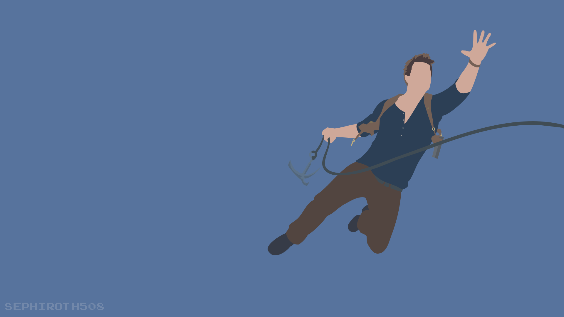 Nathan Drake (Uncharted 4) Minimalist by Sephiroth508 on ...