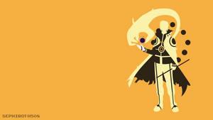 Hokage Uzumaki Naruto (Bijuu Mode) | Minimalist by Sephiroth508