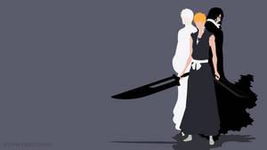 Ichigo and Zangetsu (Bleach) | Minimalist by Sephiroth508