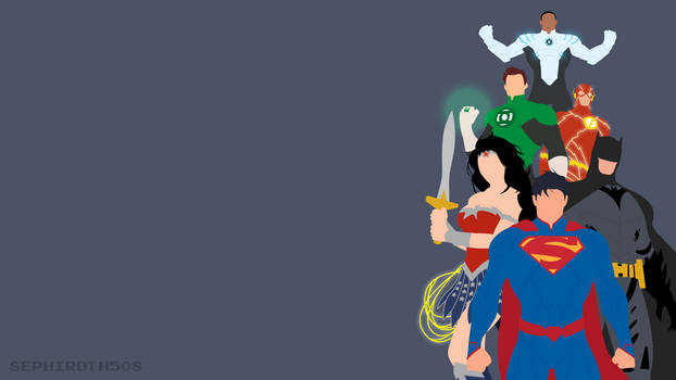 Justice League | Minimalist by Sephiroth508