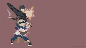 Asta and Yuno (Black Clover)   Minimalist by Sephiroth508