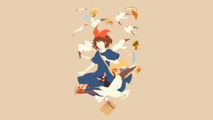 Kiki's Delivery Service (Majo no Takkyuubin) by Sephiroth508