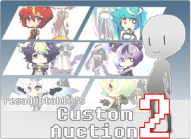 CUSTOM AUCTION 2 [ CLOSED ] by resadoptables
