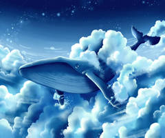 Whale by Habbiiee