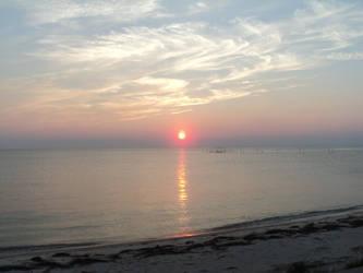 Chesapeake Bay sunset by ffrick73