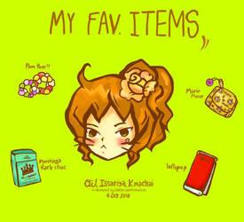 ma favorites items by l3al3ieoil