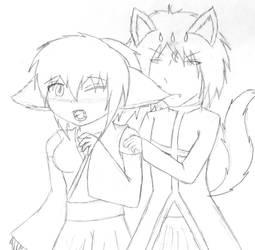 Canine vs. Feline by Makos-Modern-Life