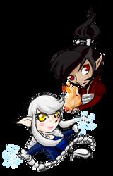 Azura and Kai by Blaknite