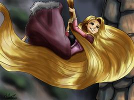 Rapunzel by MicroPixels