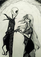 Jack and Sally by MicroPixels
