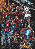 Spider Verse !! by tontentotza