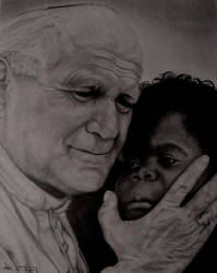 John Paul II by S3V4STR4
