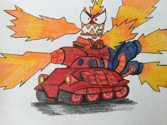 Unikitty Flametank! by SweetieBot3000