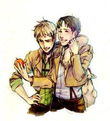 Apple Boyfriends by BTRumple
