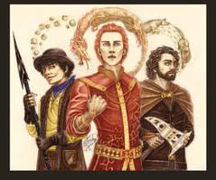 WoT: Mat, Rand and Perrin by Manweri