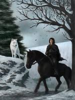 ASoIaF - Jon Snow by Manweri