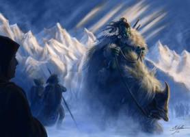 Barbarian troll by Manweri