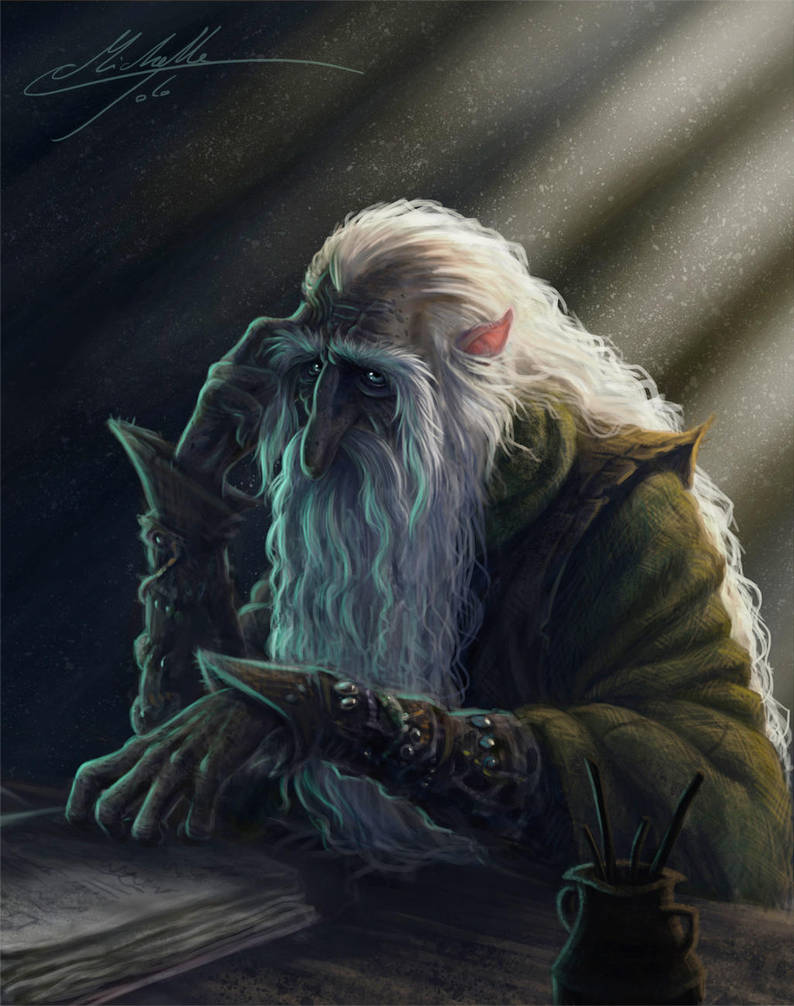 The Wizard by Manweri