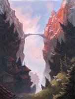 The Sky Bridge by Manweri