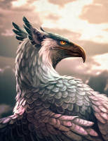 Griffin portrait by Manweri