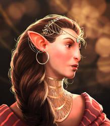 Lady Gwenne by Manweri