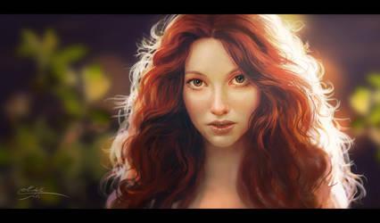 Redhead by Manweri